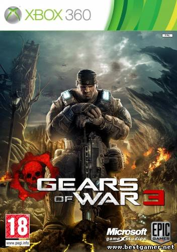 [JTAG/FULL] Gears of War 3 [JtagRip/RUS]