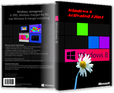 Windows 8  Activated [x86-x64] от  R.G. Best-windows [12in1] (2012) Русский