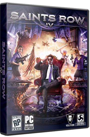 Saints Row IV v.update7 + DLC (RUS/ENG/MULTi7) [P] 2xDVD5
