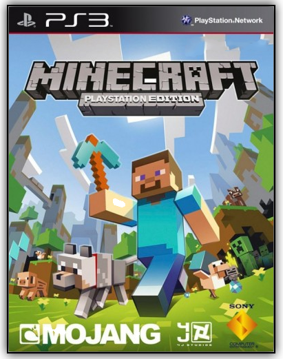 Minecraft: PlayStation 3 Edition [RUS] [Repack]