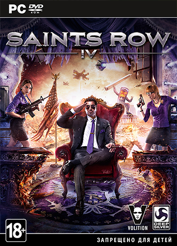 [UPDATE] Saints Row IV Update 7 Incl DLC (Rus/Multi7) - RELOADED