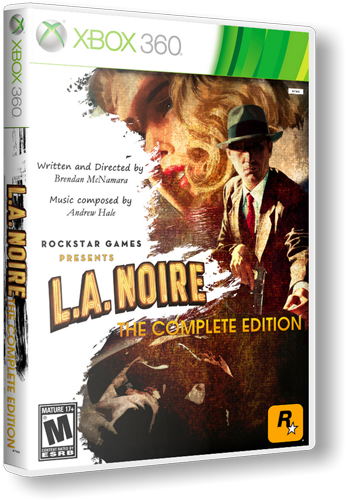 [XBOX 360] L.A. Noire : The Complete Edition [RegionFree] [RUS] [LT-1.9 /2.0 /3.0]