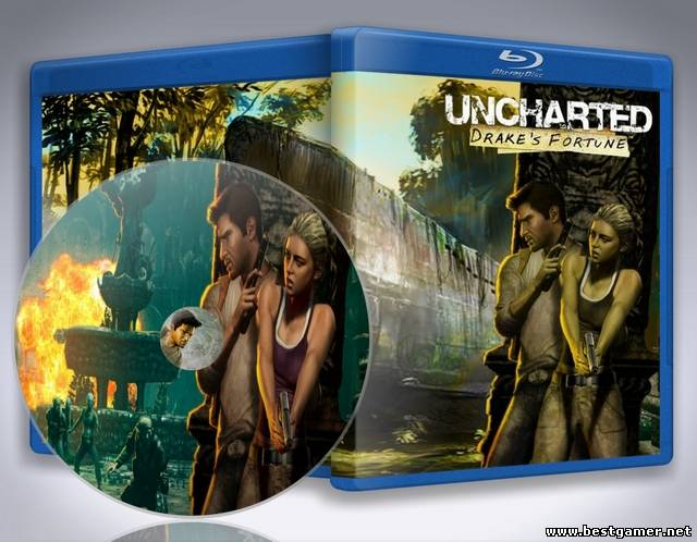 Видео обзор игры Uncharted: Drake's Fortune для сайта bestgamer.net(HD1080р)