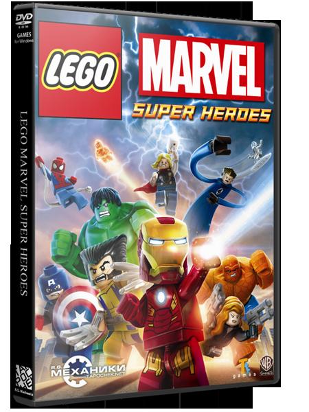 LEGO Marvel Super Heroes (RUS|ENG) [RePack] от R.G. Механики