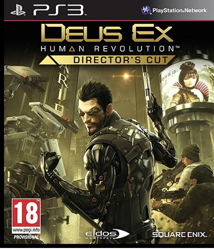 [PS3] Deus Ex: Human Revolution [RUS\ENG] [Repack] [4xDVD5]