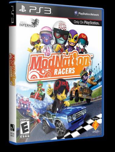 [PS3] ModNation Racers [RUS\ENG] [Repack] [3хDVD5]