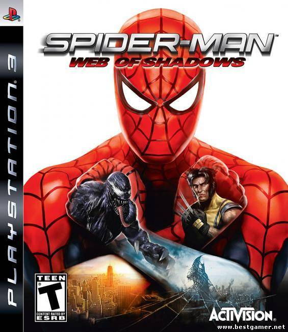 (PS3)Spider-man Web Of Shadows(ENG)4.21+