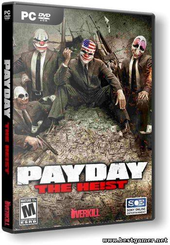 PAYDAY: The Heist + DLC (1.21.0) (2013)[Steam-Rip]