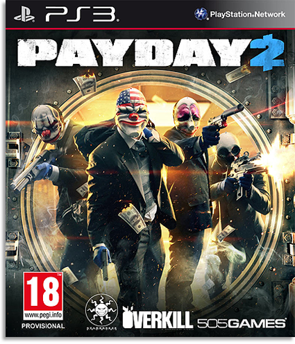 [PS3] PayDay 2[EUR] [ENG] [4.46] [Cobra ODE / E3 ODE PRO ISO]