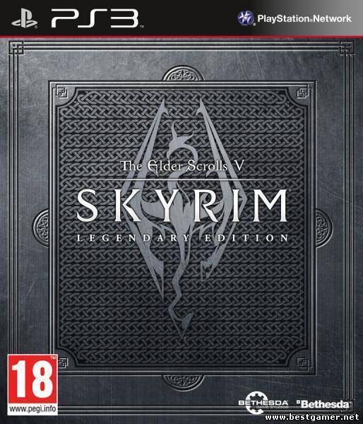 The Elder Scrolls V: Skyrim - Legendary Edition [PS3] [EUR] [RUSSOUND] [4.41] [Cobra ODE / E3 ODE PRO ISO] (2013)