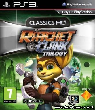 The Ratchet & Clank Trilogy HD [Cobra ODE / E3 ODE PRO ISO]