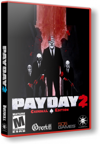 Payday 2 - Career Criminal Edition(RUS|ENG) [RePack] от xatab обновлено 24.01.2014 г.