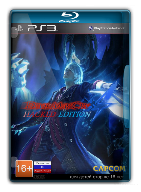 Devil May Cry 4: Hacked Edition[RUS] [RUSSOUND] [3.41+]