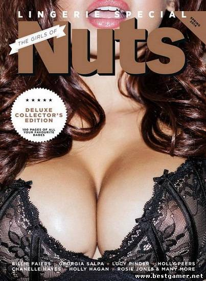The Girls of Nuts. Lingerie Special [Весна / Spring 2014, Мужской журнал, Эротика, PDF] ENG