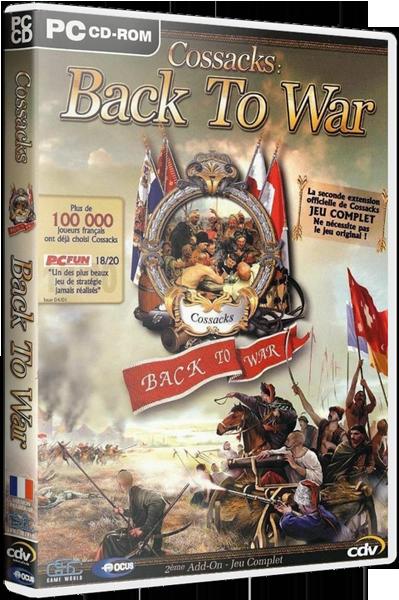 Казаки: Снова Война / Cossacks - Back To War [2002, RUS/- ,Repack] от Decepticon