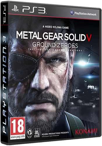 [PS3]Metal Gear Solid V: Ground Zeroes [USA/RUS]
