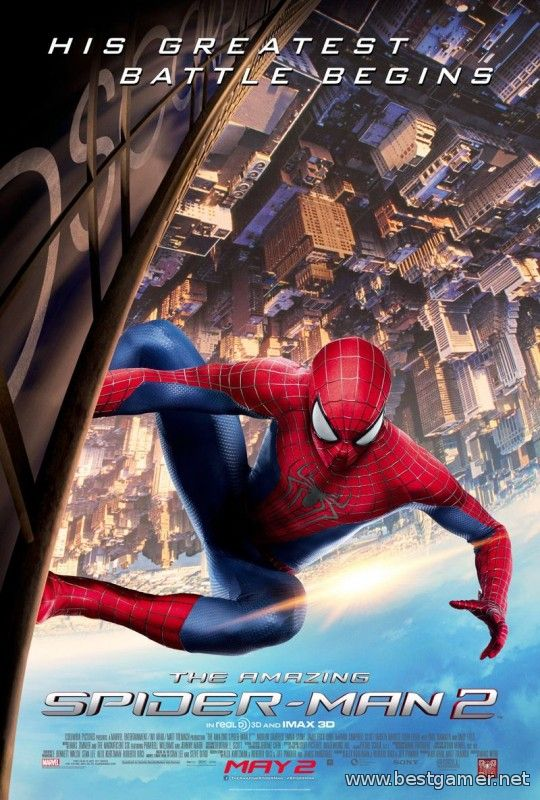 The Amazing Spider-Man 2 (2014) [USA][ENG][L] [4.46+]