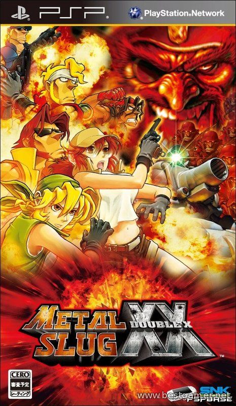 [PSP] Metal Slug XX [2009 / English]