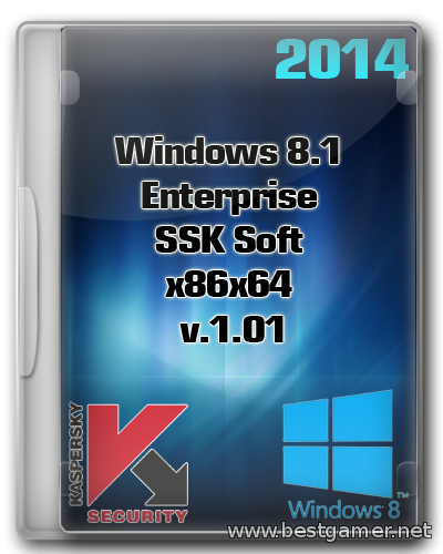 Windows 8.1 Enterprise SSK Soft x86x64 [v.1.01] (2014) Rus