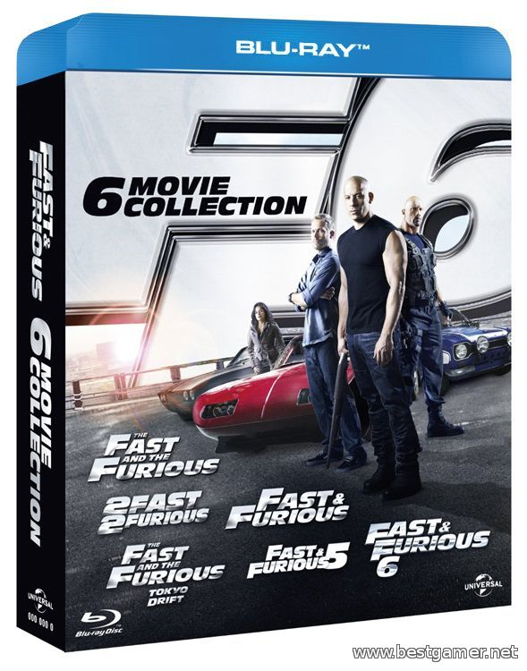 Форсаж - Гексалогия / The Fast and the Furious - Geksalogy( BDRip)
