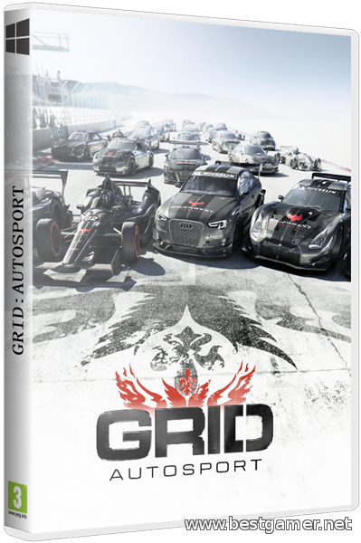 GRID Autosport. Limited Black Edition[Repack] от Decepticon