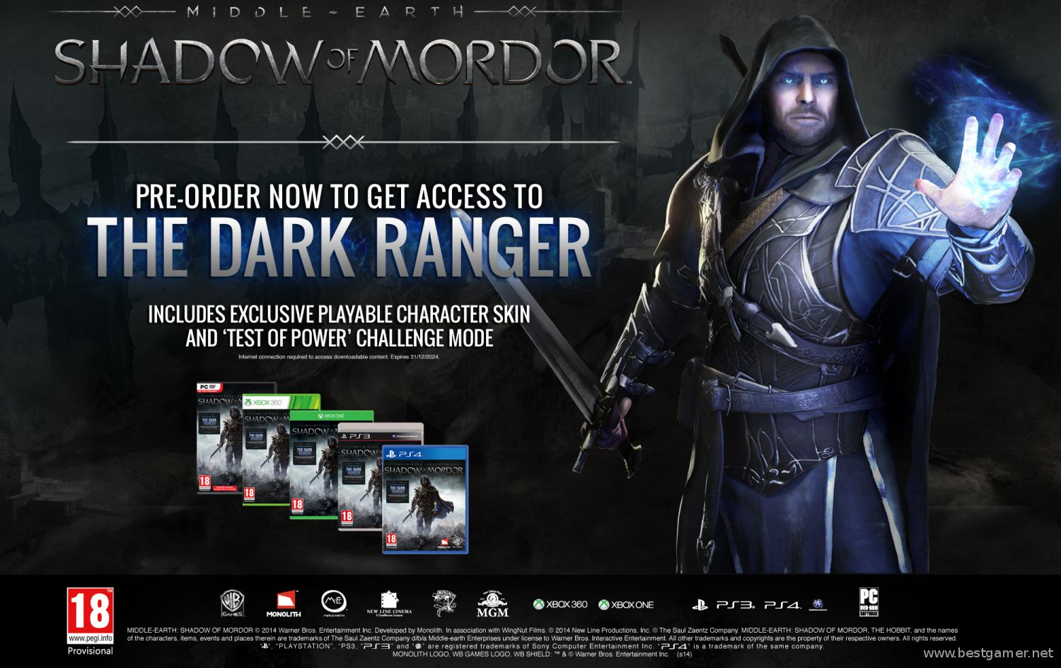 Middle earth shadow of mordor моды скачать