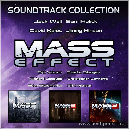 (Gamerip) Mass Effect Soundtrack Collection(2007-2013)