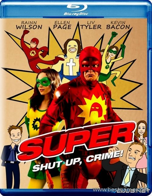 Супер / Super (2010) BDRip