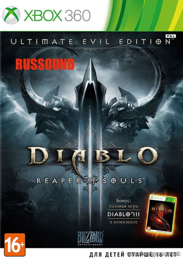 Diablo III: Ultimate Evil Edition [PAL/RUSSOUND]