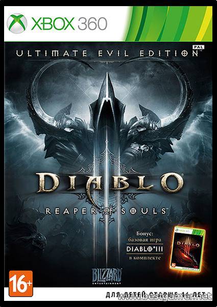 Diablo III: Reaper Of Souls Ultimate Evil Edition[PAL/RUSSOUND] LT+ 2.0