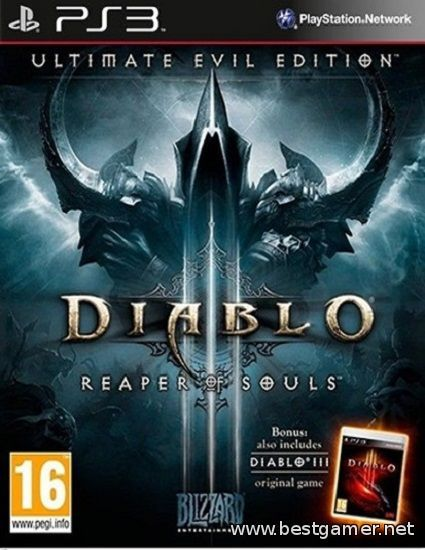 [PS3]Diablo III: Reaper of Souls-Ultimate Evil Edition(RUSSOUND)