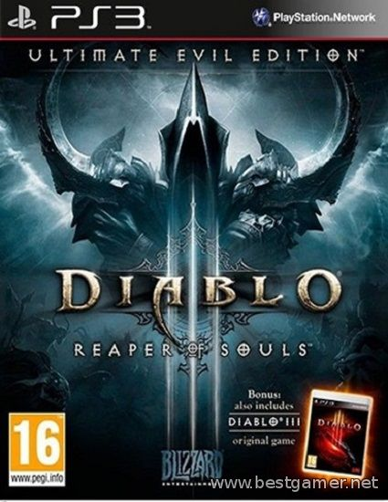 Diablo III : Reaper of Souls Ultimate Evil Edition (2014) [PS3] [EUR] 0.55 [Cobra ODE / E3 ODE PRO ISO]
