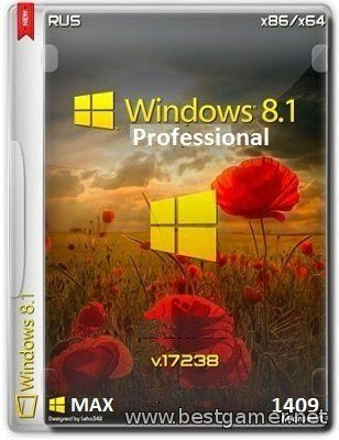 Microsoft Windows 8.1 Pro VL 17238 x86-x64 RU MAX.1409 by Lopatkin (2014) Русский