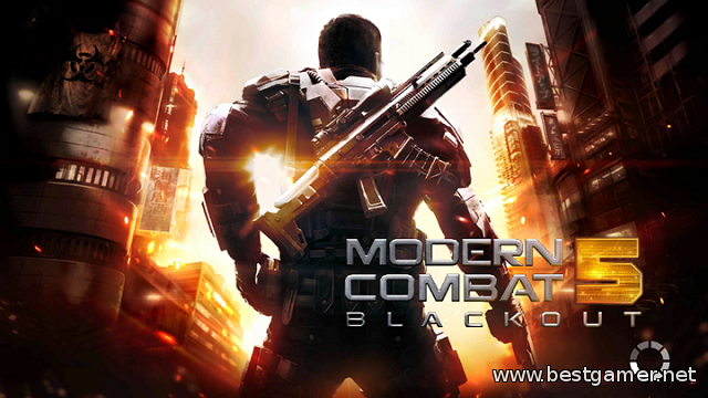 Modern Combat 5 Blackout v1.0.2f (Android)