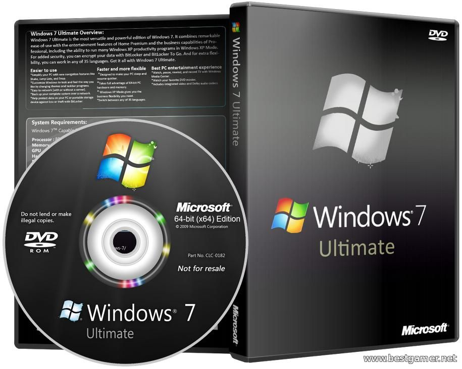 Windows 7 Ultimate SP1 x64 by LEX v.14.9.1