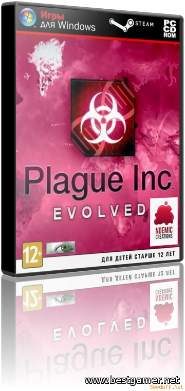 Plague Inc: Evolved.v 1.0.13.MP:101 (Ndemic Creations) (RUS/MULTI15) [Repack] от Decepticon