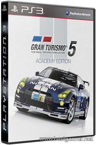 (Ps3)Gran Turismo 5 Academy Edition[RUSSOUND]Cobra ODE / E3 ODE PRO ISO