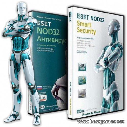 ESET NOD32 Antivirus / ESET Smart Security 7.0.317.4 + T-NOD 1.4.2.3 Final [Ru/EN/UA] (2014) PC