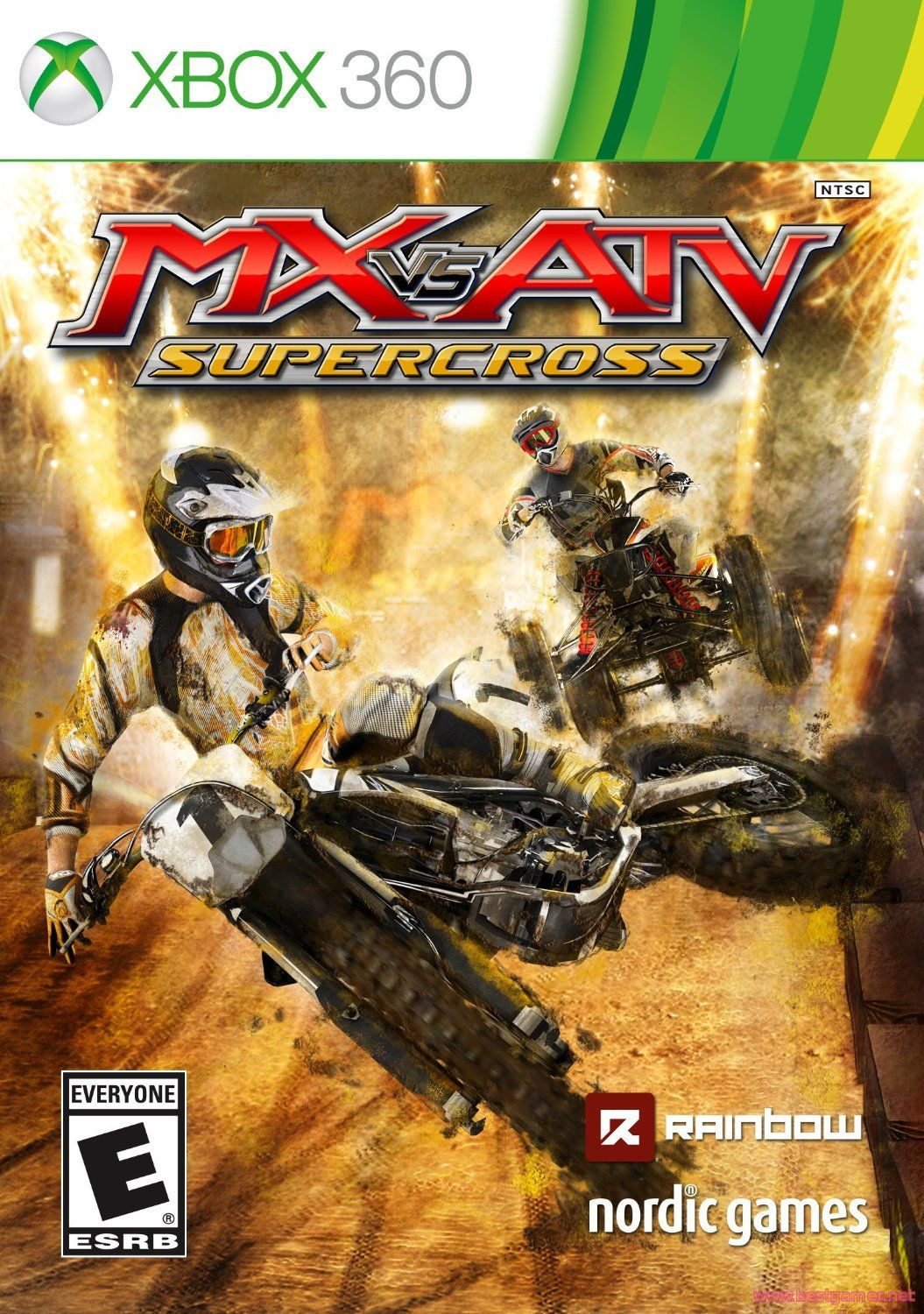 [FULL] MX vs ATV Supercross [GOD / ENG]