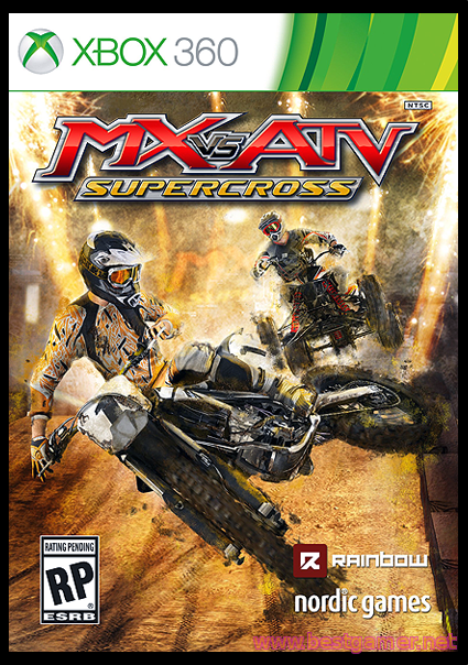 MX vs ATV: Supercross [Region Free]