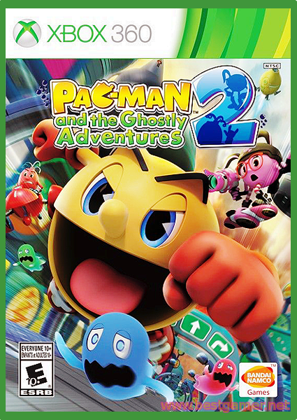 Pac-Man And The Ghostly Adventures 2 [Region Free] [ENG]