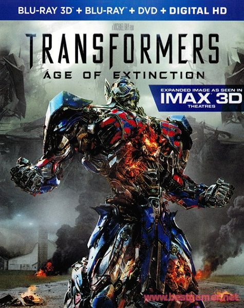 Трансформеры: Эпоха истребления / Transformers: Age of Extinction( 3D: Half OverUnder)