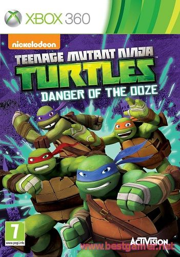 Teenage Mutant Ninja Turtles: Danger of the Ooze [GOD / ENG]