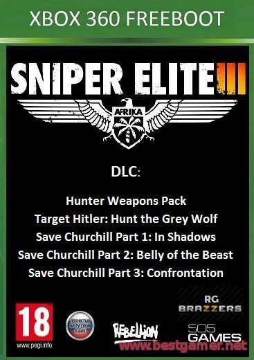 Sniper Elite 3 + TU + 5 DLC [FREEBOOT / RUSSOUND]