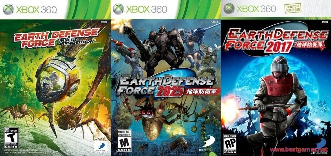 Earth Defense Force - Trilogy [GOD / ENG]