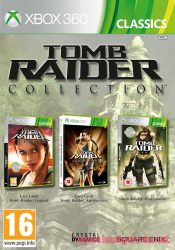 Tomb Raider Trilogy [Region Free / RUS] Freeboot