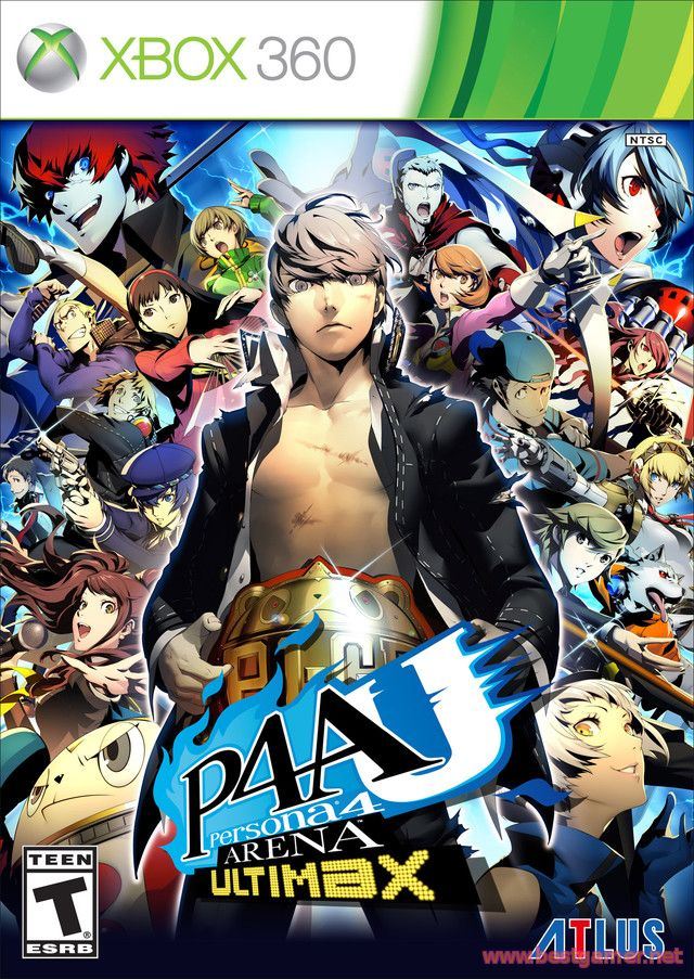 Persona 4 Arena Ultimax + TU + DLC [Freeboot / ENG]