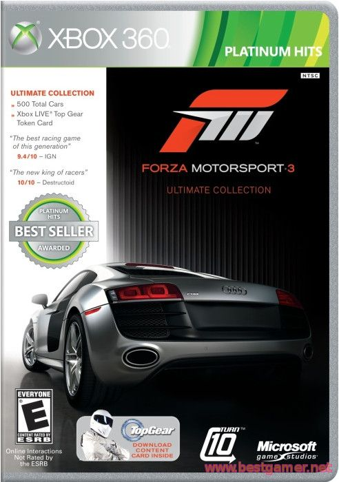 Forza Motorsport 3 Ultimate Collection (2010) [PAL][RUSSOUND]