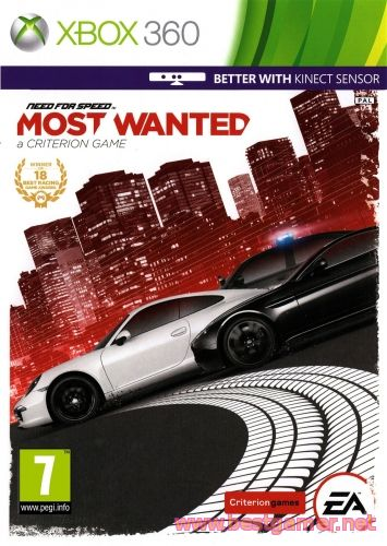 Need for Speed: Most Wanted [JtagRip/Russound] [Repack]