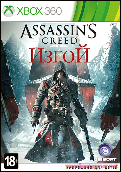 (XBOX360) Assassins Creed Rogue (Region Free/Eng) для LT+2.0
